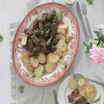 Cypriot Koupepia - Stuffed Vine Leaves