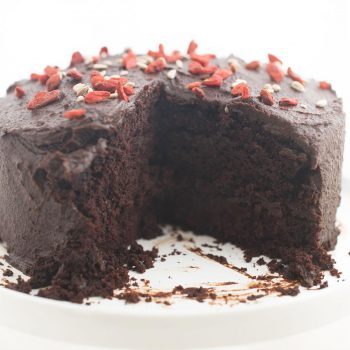 Guilt-free chocolate cake