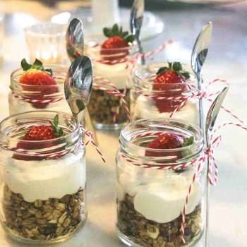 Granola with coconut cream (As seen on TV)