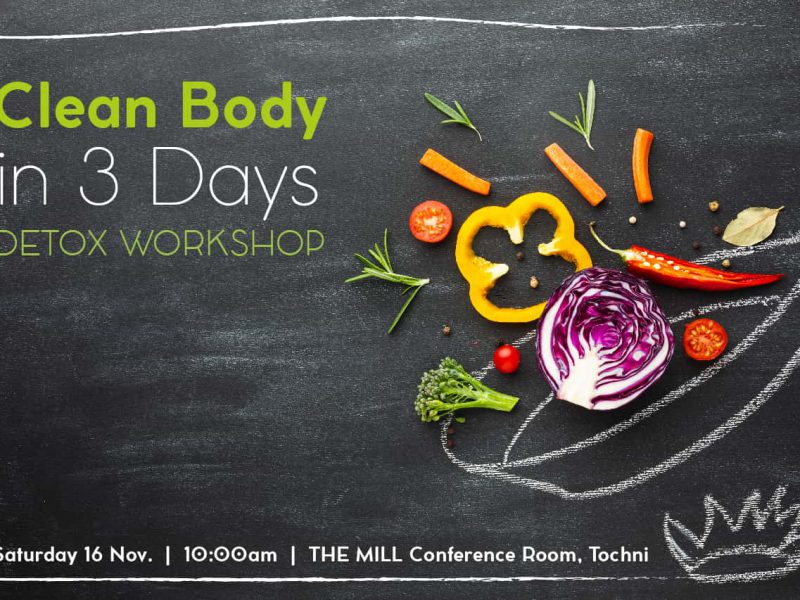 Clean Body in 3 Days Detox Workshop