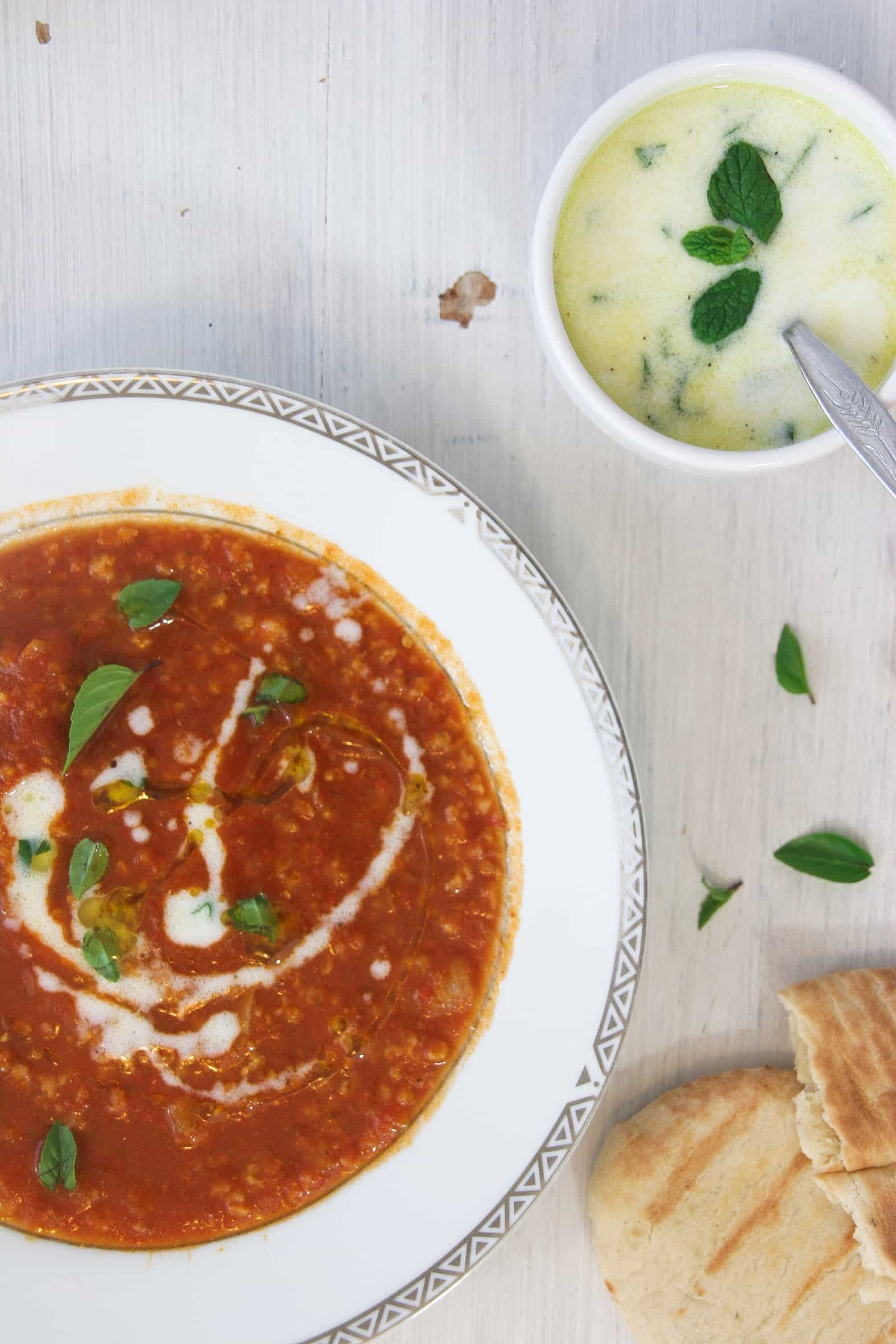 Easy-tomato-soup-Tzantziki-dressing-3-recipe-soup