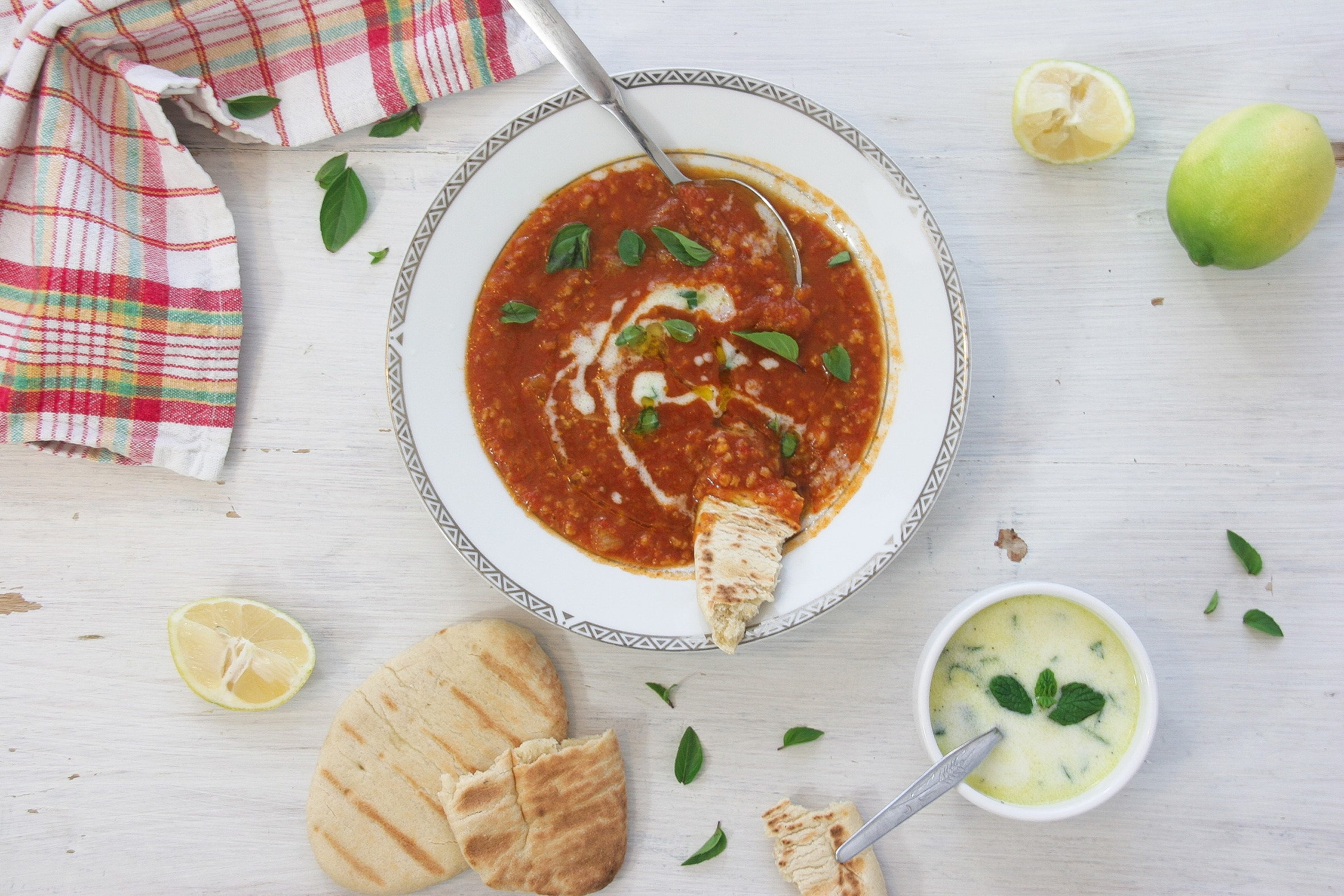 Easy-tomato-soup-Tzantziki-dressing-4-recipe-soup